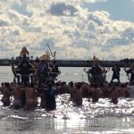 寒中といえば水泳ではなく神輿です。